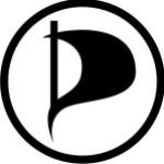 Die Partei der Piraten bezieht Stellung zur Feierabend-Entscheidung - Logo: Piratenpartei