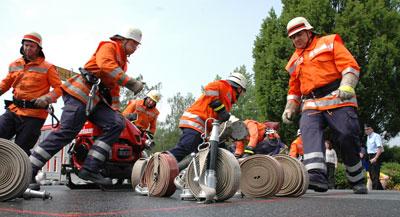 Die Feuerwehren messen sich wieder – Foto: PAH/Archiv
