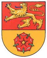 Die Schützinnen schießen wieder - Wappen: Evern