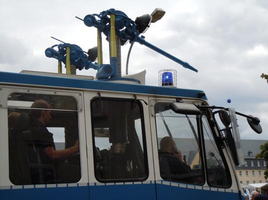 """Polizei verhinderte das Aufeinandertreffen der """"Fans"""" - Foto: JPH/Archiv"""