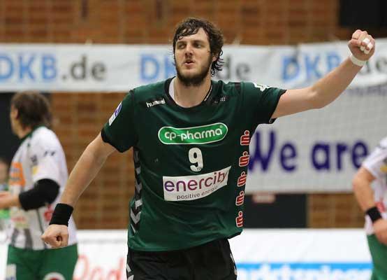 Mait Patrail will unbedingt zwei Punkte in Hannover halten - Foto: TSV Hannover-Burgdorf/Oliver Vosshage
