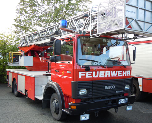 Schnell war die Feuerwehr vor Ort - Foto: JPH/Archiv