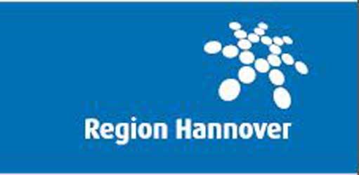 Die regionsumlage könnte sinken – Logo: Region Hannover
