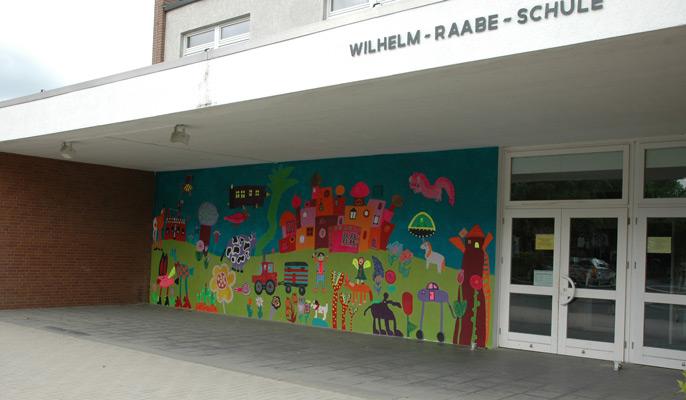 """Die Wilhelm-Raabe-Schule in Ilten freut sich auf 48 """"Neue"""" - Foto: JPH"""