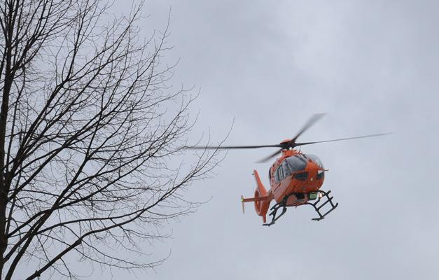 Auch ein Rettungshubschrauber war eingesetzt - Foto: JPH/Archiv