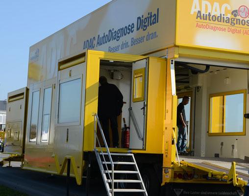 Der Diagnose-Truck kommt nach Sarstedt - Foto: JPH