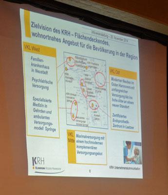 So sollten sich nach der Planung von 2014 die Krankenhäuser über die Region verteilen - Foto: JPH