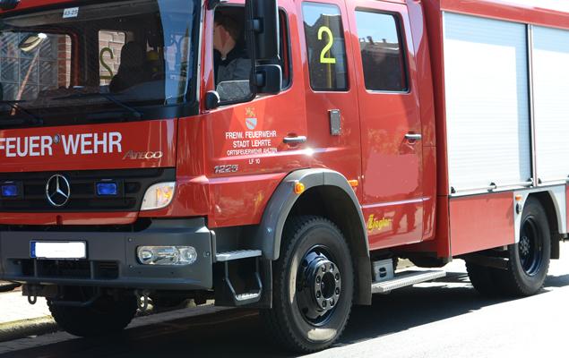Die Feuerwehr war schnell alarmiert worden  - Foto: JPH