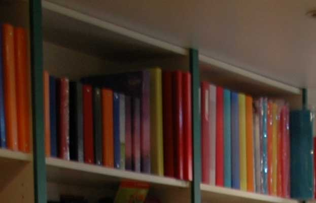 Rechtzeitig Bücher ausleihen - Foto: JPH