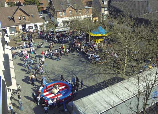 Der Market Place war gut besucht - Foto: Mit freundlicher Genehmigung von Lakepix