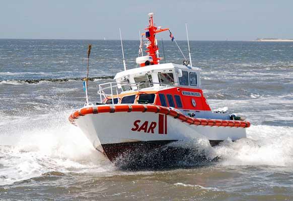 Das eingesetzte Seenotrettungsboot Neuharlingersiel der DGzRS - Foto: DGzRS/Die Seenotretter Archiv