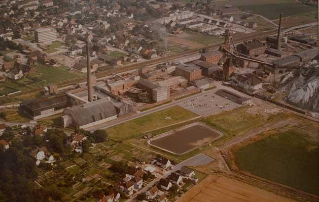 Die Sehnder Werksanlage Friedrichshall - Foto: JPH