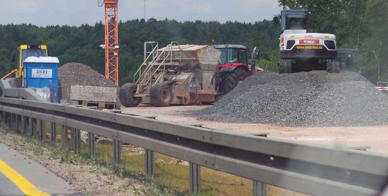 Brücke auf der A 2 wird umgebaut - Foto: JPH