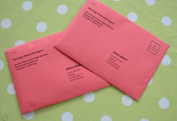 Auch die Briefwahl muss ausgezählt werden – Foto: JPH
