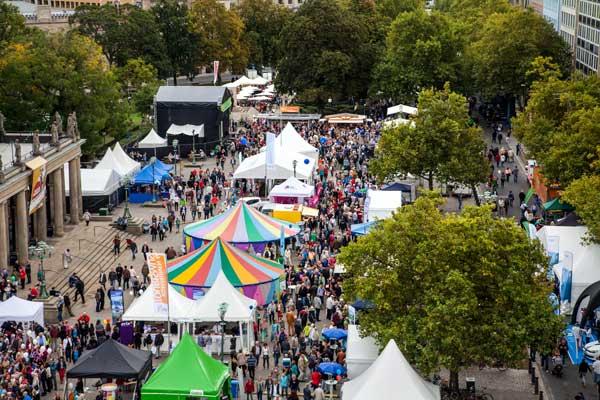 Das zentrale Fest findet in der Innenstadt von Hannover statt - Foto: Region Hannover