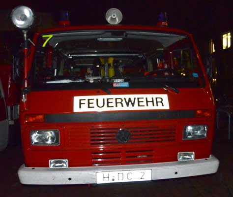 Die Feuerwehr musste nicht mehr umfangreich tätig werden - Foto: JPH