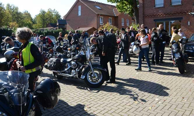 Es werden wieder viele Biker in Ahlten erwartet - Foto: JPH