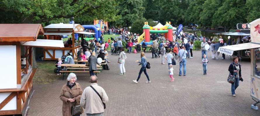 Im Stadtpark ist am Donnerstag und Sonntag immer was los - Foto: Lutz Akemann