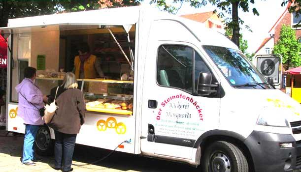 Steinofenbäckerei Marquardt ist ab kommenden Freitag auf dem Marktplatz - Foto: Attraktive Wochenmärkte