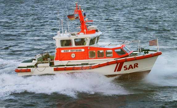 Seenotrettungsboot Kurt Hoffmann - Foto: DGzRS–Die Seenotretter/Archiv