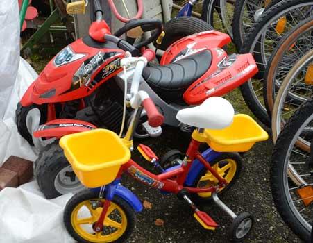 Für große und kleine Räder wird die Werkstatt in Rethmar Annahmepunkt - Foto: JPH
