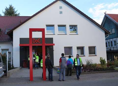 Im DoG in Köthenwald könnten auch Sprachkurse laufen für Neuankömmlinge - Foto: Klinikum/Archiv