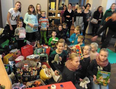 Viele Kinder der tafel werden sich über die Spende der Gemeinde-Kinder freuen - Foto: R. Grethe