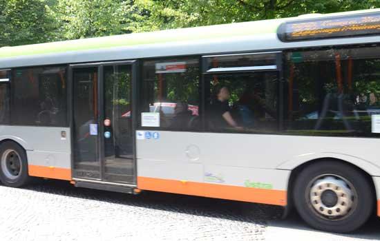Die 123er und 124er Busse fahren anders - Foto: JPH