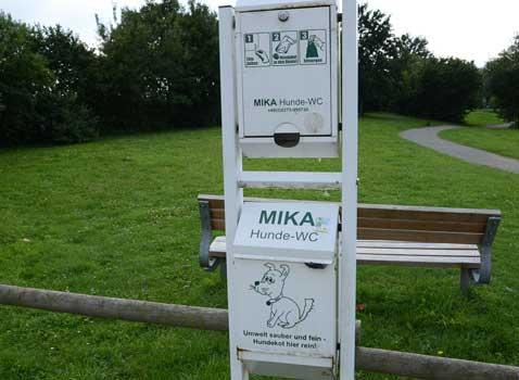 Eine intakte Anlage dient allen Nutzern, ob mit oder ohne Hund - Foto: JPH
