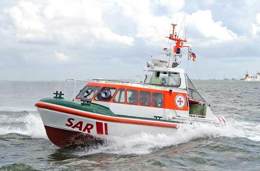Das Seenotrettungsboot Cassen Knigge/Station Norddeich der DGzRS lief umgehend aus - Foto: DGzRS – Die Seenotretter/Thomas Hartwig