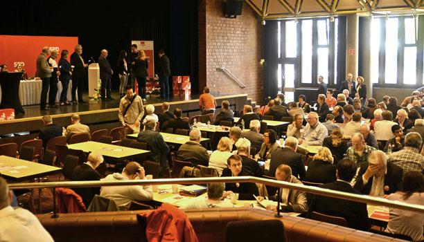192 Delegierte und rund 80 Gäste waren bei der SPD in Lehrte - Foto: JPH