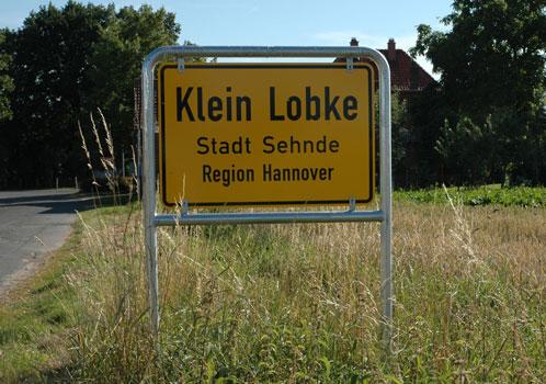 Von Klein nach Groß Lobke ist die Straße gesperrt - Foto: JPH