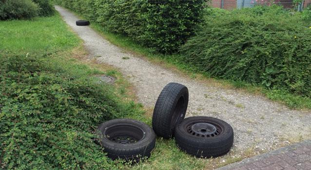 Der Weg war zu weit - oder die ENtworgung zu teuer, fand der Ex-Besitzer - Foto: JPH