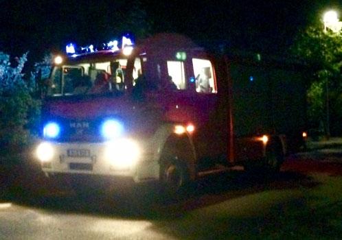 Nach nur 5 Minuten war die Feuerwehr da - Foto: Stadtfeuerwehr Sehnde