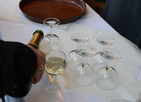 Österreichische Weine im CappuVino - Foto: JPH