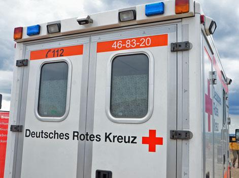 Der Radfahrer kam ins Krankenhaus - Foto: JPH