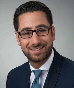 Sepher Sadar Amiri ist CDU-Geschäftsführer – Foto: CDU