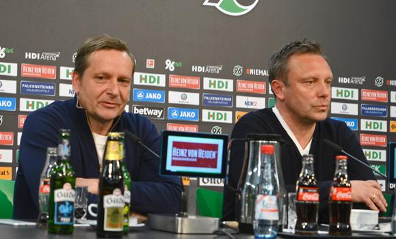 Hannover 96 Mit André Breitenreiter Heute Nach Dortmund