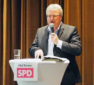 Olaf Kruse stellte die Unterscheidungsmerkmale vor – Foto: JPH