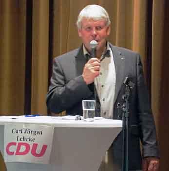 Carl Jürgen Lehrke stellte seine Positionen dar – Foto
